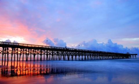 ここからドラマが始まる?美しい桟橋の写真42枚6